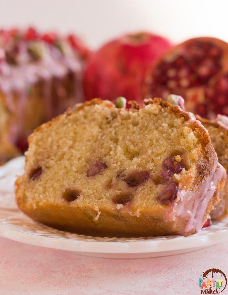 Lemon Pomegranate Cake