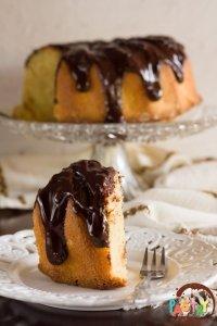 ouzo-spiked chocolate orange cake
