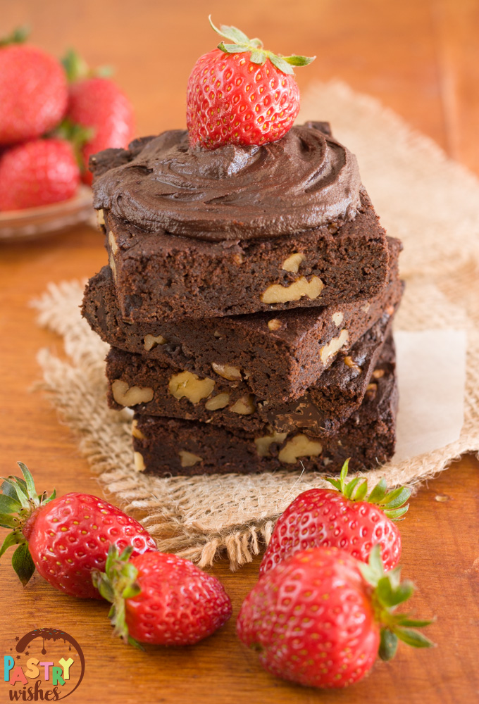 easy vegan fudge brownies