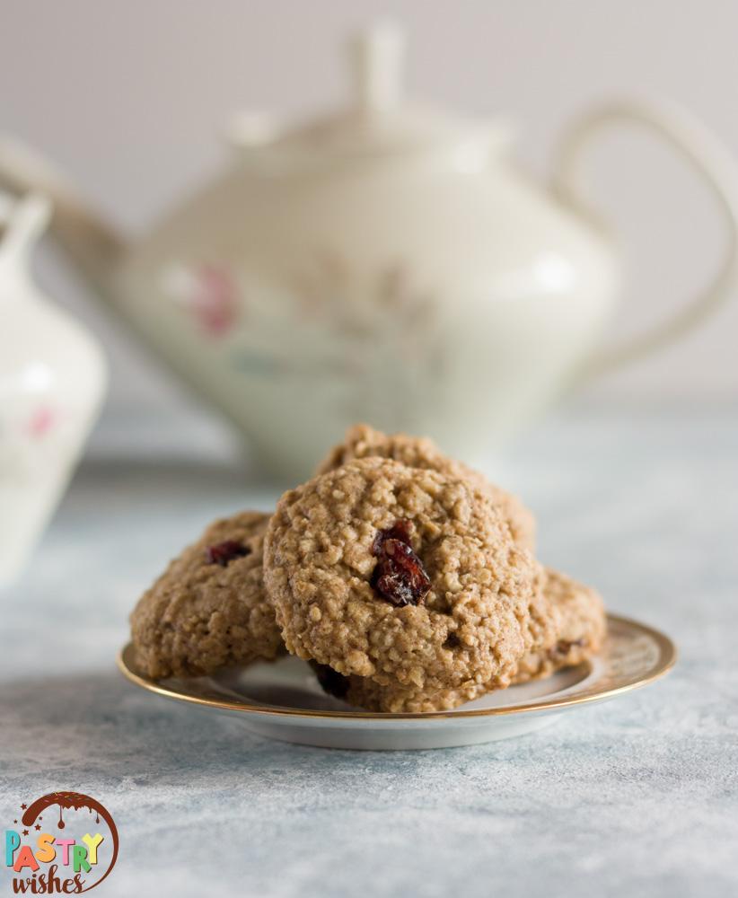 healthy tahini breakfast cookies